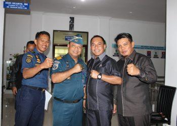 Kunjungan Kerja Anggota Komisi 3 DPRD Tarakan ke KSOP Kelas III Tarakan, (28/11). Poto: Fokusborneo.com