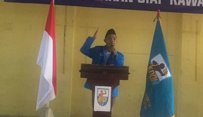 Erik Hendrawan, Ketua DPD KNPI Tarakan 2019-2022. Poto: Istimewa