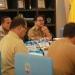 KOORDINASI : Sekprov Kaltara, H Suriansyah saat memimpin Rakor TPID 2019 di ruang pertemuan lantai 1 Kantor Gubernur Kaltara, Senin (30/12) pagi. Poto:Humas Provinsi Kaltara