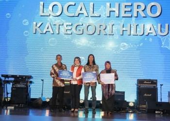 Pertamina EP Borong Penghargaan Local Hero dan PROPER Hero pada HUT Pertamina. Poto: Pertamina
