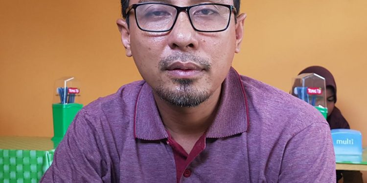 Teguh Dwi Subagyo, Anggota KPU Provinsi Kaltara. Poto: Slamet / fokusborneo.com