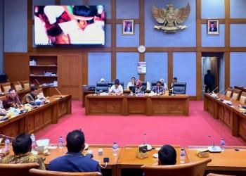 Hetifah Wakil Ketua Komisi X DPR RI Terima Rombongan Anggota DPRD Provinsi Kaltara di Senayan (16/12). Poto: Istimewa