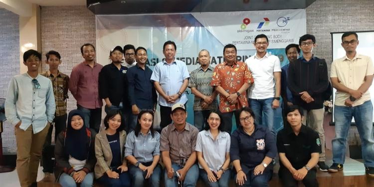 Edukasi dan Media Gathering JOB Pertamina Medco E&P Simenggaris. (3/12). Poto: Istimewa