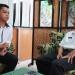 Ketua DPD KNPI Tarakan Erik Hendrawan dan Kadispora Tarakan Agus Sutanto. Poto: Doc KNPI