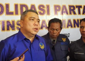 Waketum DPP Nasdem Ahmad Ali. Poto: Slamet / fokusborneo.com