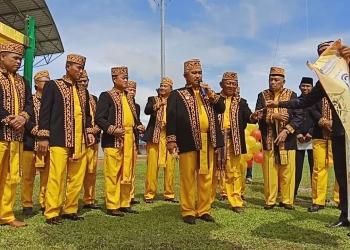 Upacara Hut Kota Tarakan ke 22 Tahun, 15 Desember 2019 di Stadion Datu Adil. Poto: Istimewa