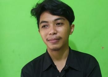 Mohd. Aswan, Wakil Ketua Bidang Politik dan Pemerintahan DPD KNPI Tarakan.
