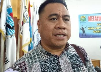 Jufri Budiman, Ketua PBSI Kota Tarakan, Poto: ari / fokusborneo.com