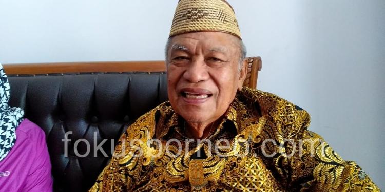 Udin Hianggio, Bacalon Gubernur Provinsi Kaltara. Poto: Ari / fokusborneo.com