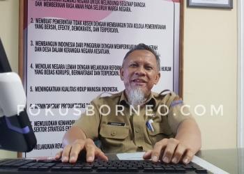 Hamsyah, Plt Kadisdukcapil Kota Tarakan. Poto: Slamet / fokusborneo.com