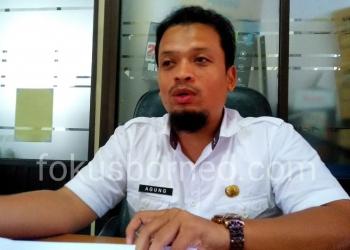 Agung, Kabid Sapras Disdikbud Tarakan. Poto: Ari / fokusborneo.com