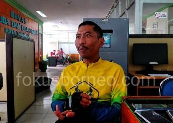 Agus Sutanto, Kadispora Tarakan. Poto: fokusborneo.com