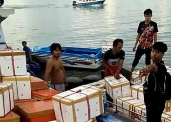 Ekspor Kepitng Tarakan Kaltara Turun. poto: Istimewa