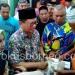 Gubernur Kaltara Irianto Lambrie Serahkan Bantuan Korban Kebakaran Pasar Batu Sebengkok Tarakan (25/1). Poto: fokusborneo.com