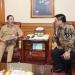KOORDINASI : Gubernur Kaltara, Dr H Irianto Lambrie berkoordinasi dengan Sekjen Kemendagri, Hadi Prabowo, Senin (19/1). Poto: Humas Provinsi Kaltara