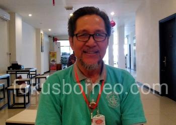 Dr. George Marso Daniel. Ketua JPAB Regional Kaltara. Poto: Ari / fokusborneo.com
