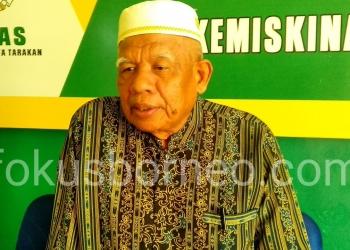 KH. M Anas, Ketua MUI Kota Tarakan. Poto: ari/fokusborneo.com
