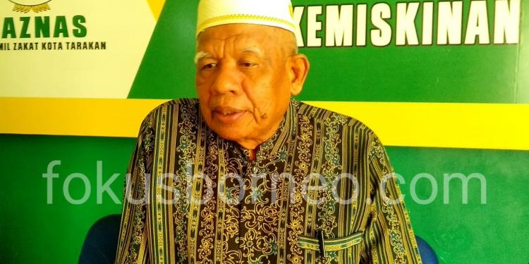 KH. M Anas, Ketua MUI Kota Tarakan. Poto: doc/fokusborneo.com