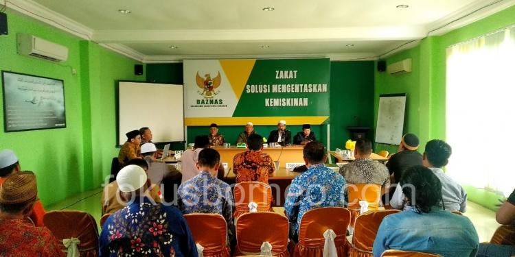MUI Gelar Rapat Bahas Persoalan di Tarakan. Poto: ari / fokusborneo.com