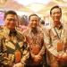 PERTEMUAN INDUSTRI JASA KEUANGAN : Gubernur Kaltara, Dr H Irianto Lambrie bersama para gubernur yang hadir pada acara pertemuan tahunan industry jasa keuangan di Jakarta, Kamis (16/01/2020).Poto: Humas Provinsi Kaltara
