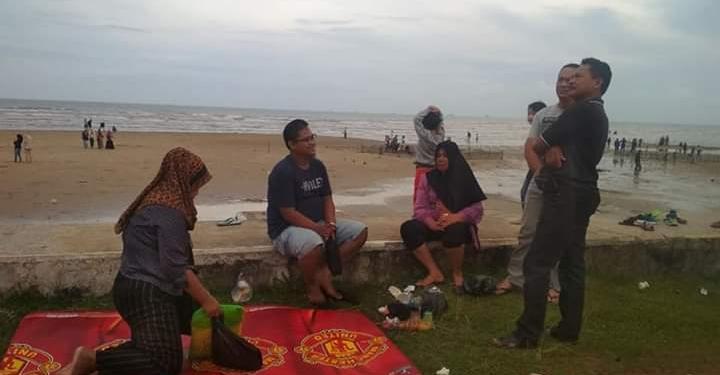 Libur Awal Tahun 2020, Pantai Amal Ramai Pengunjung, Poto: Istimewa