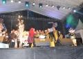 KPU RI, KPU Kaltara dan Bawaslu Kaltara Tekan Tombol Sirine Sebagai Tanda Launching Pilgub Kaltara 2020 (22/1). Poto: Istimewa