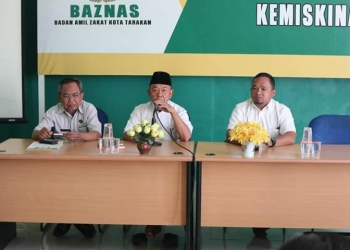 Pertemuan: Ketua Bawaslu Tarakan bersama Ketua FKUB Tarakan, Poto: Istimewa