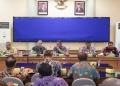 Rapat kordinasi kesiapan TMMD ke - 109 yang digelar diruang Rapat Imbaya Kantor Walikota Tarakan. Poto: Doc.Pendim 0907/Trk