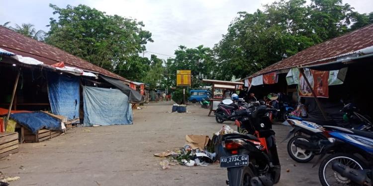 Pasar Tenguyun Boom Panjang Kota Tarakan. Poto: fokusborneo.com