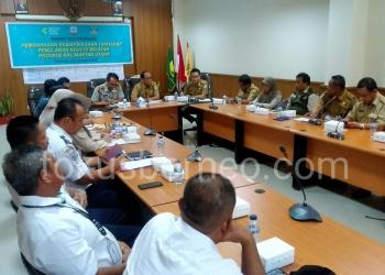 Rapat Kesiapsiagaan Penularan nVoc di Kaltara, (28/1). Poto: fokusborneo.com