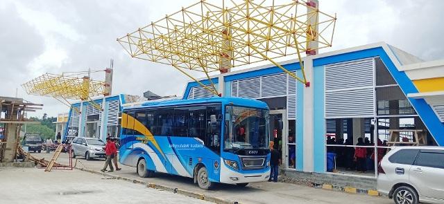 SEGERA DIRESMIKAN : Kondisi Pelabuhan Tengkayu I Kota Tarakan yang telah dilakukan pengembangan fungsi dan fasilitasnya oleh Pemprov Kaltara. Poto :Humas Provinsi Kaltara