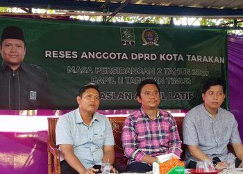 Jaring Aspirasi Masyarakat, Maslan Abdul Latif Gelar Reses di Gunung Lingkas. Poto: Istimewa