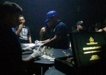 Tim Gabunagn Razia Tempat Hiburan Malam di Tarakan. poto: Istimewa