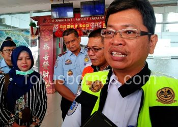 Fadrinsyah, Kepala Bandara Internasional Juwata Tarakan, Poto: fokusborneo.com