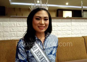 Rachel Eleeza Coloay, Finalis Puteri Indonesia 2020 Wakil Kaltara. Poto: Fokusborneo.com