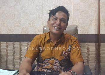 Yulius Dinandus, Wakil Ketua DPRD Tarakan. Poto: fokusborneo.com