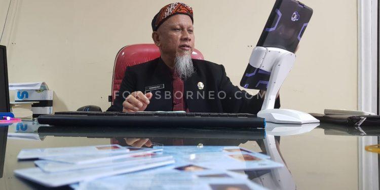Hamsyah, Plt Kadisdukcapil Tarakan. Poto: fokusborneo.com