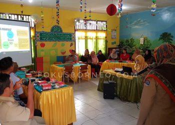 SDN 014 Ajarkan Kepada Siswa PHBS dan Sanitasi Lingkungan. Poto: fokusborneo.com