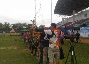 Peserta Archery OWalikota Open 2020, lakukan Latihan, Poto: Istimewa