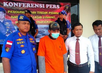 Ilegal Fishing: WNA Phipilina Curi Ikan di Indonesia. Poto: Fokusborneo.com