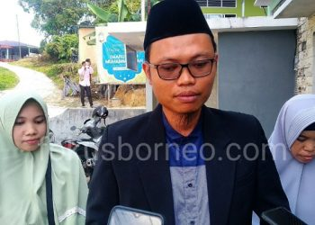 Komandan Paskas, Rezky Seftiansyah Putra  (tengah). Poto: fokusborneo.com