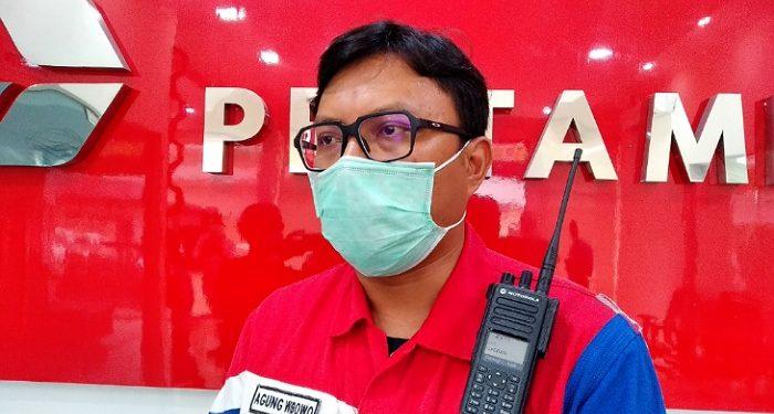 Agung Wibowo, FM Pertiman EP Tarakan Field. poto: fokusborneo.com