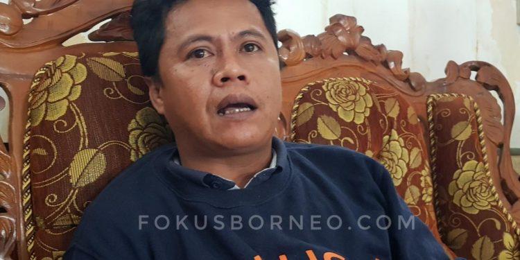 Komisioner KPU Kaltara, Hariyadi Hamid.  Poto: foksuborneo.com