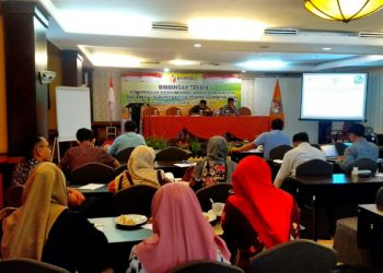 Bimtek Informasi Penyelesaian Sengketa Bagi Bawaslu Kab/Kota. Poto : fokusborneo.com