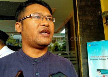 Kasi Komersil Bulog Tarakan, Olop H Simamarta.