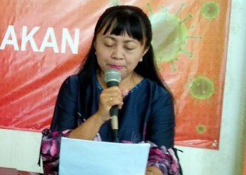 dr. Devi Ika Indriarti, Jubir Tim Gugus Tugas Percepatan Penanggulangan Covid-19 Tarakan.