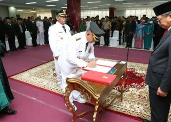 Pelantikan Khairul - Effendhi Djuprianto 1 Maret 2019. Poto: Dok Humas dan Protokol Pemkot Tarakan