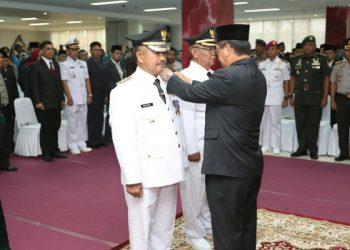 Pelantikan Khairul - Effendhi Djuprianto pada 1 Maret 2019. Poto: Dok Humas Protokol Pemkot Tarakan
