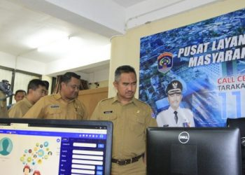 Walikota Tarakan Khairul launching 112. Poto: DOk Humas dan Protokol Pemkot Tarakan