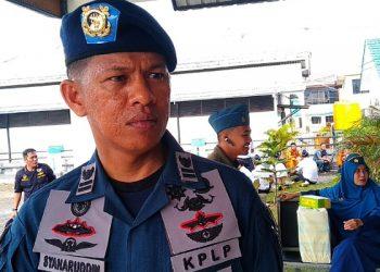 Syaharuddin, Kasi Keselamatan Berlayar, Penjagaan dan Patroli KSOP Kelas III Tarakan. poto: Fokusborneo,com